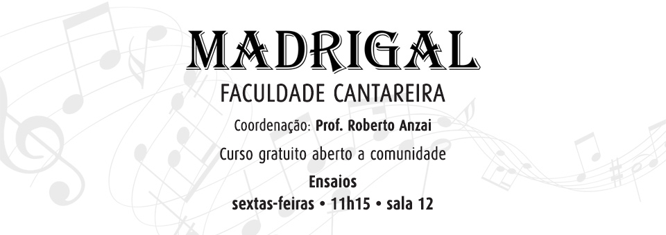 Madrigal Cantareira