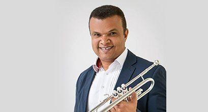 Trompetista brasileiro Amarildo Nascimento na UF