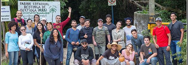 Visita Técnica ao Parque Estadual de Restinga – Bertioga