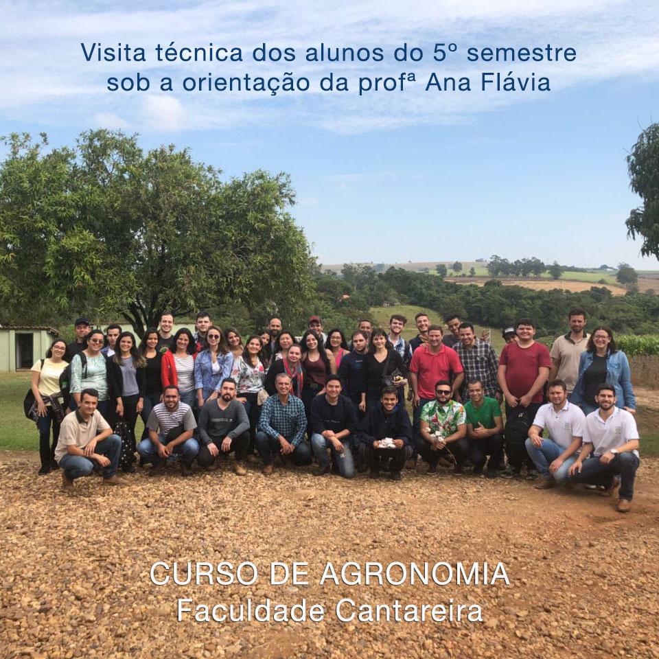 Visita técnica alunos do 5º Semestre – Agronomia