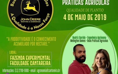 1º Treinamento de Boas Práticas Agrícolas