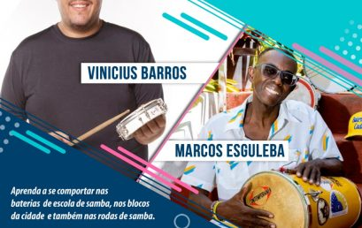 Tira dúvida no Samba | Marcos Esguleba e Vinicius Barros