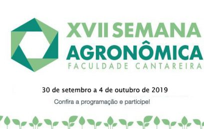 XVII Semana Agronômica – Faculdade Cantareira