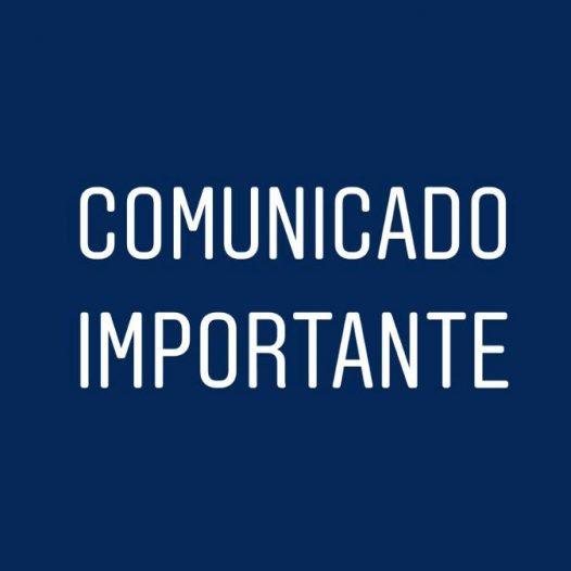 Comunicado sobre as aulas do 1º semestre de 2021